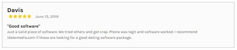 Dating Software Reviews Davis