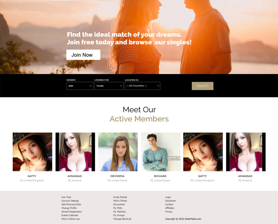 Dating Software Demo Version 10