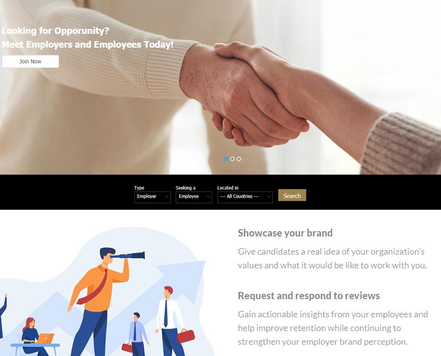 Profile Based Website Demo
