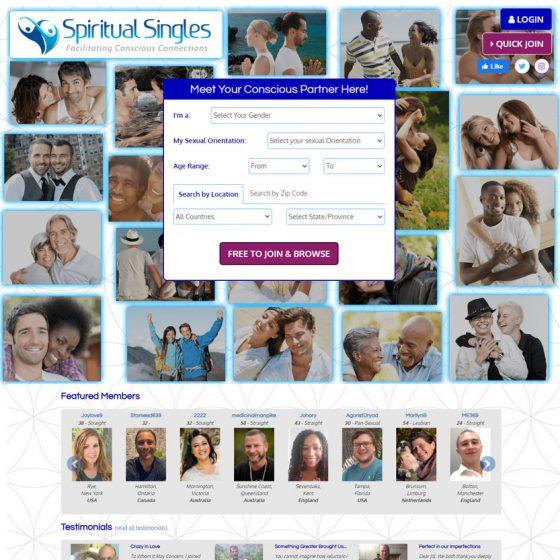 SpiritualSingles Dating Software